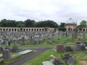 Brompton Cemetery, cementerios en West Kensington