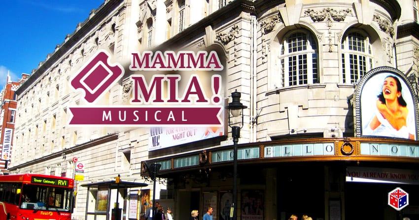 entradas teatro musical mamma mia en londres