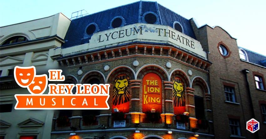 entradas al musical rey leon en londres