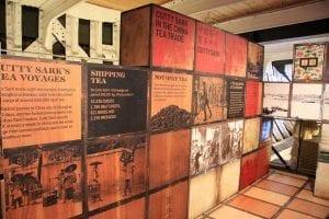 Precio para ver el interior del barco Cutty Sark