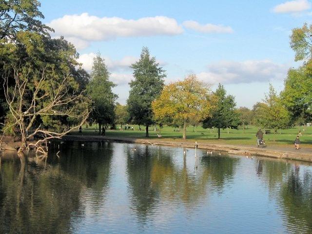 Clapham Common en el condado de Londres