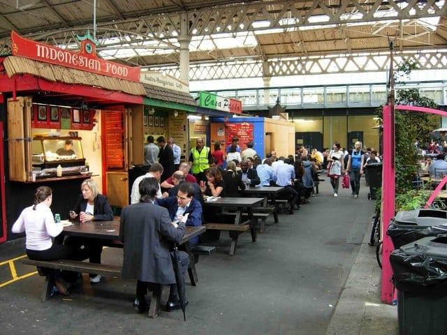 Juegos de mesa en el Old Spitalfields Market