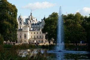 El James's Park es el más antiguo y está cerca del Buckingham