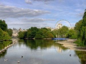 Lugares de interés de Londres como parques