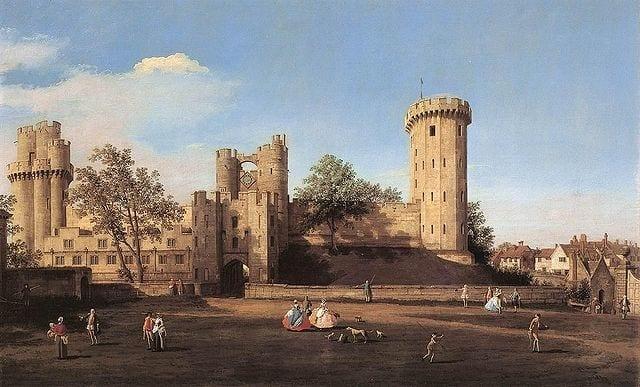 castillo o fortaleza de Warwick