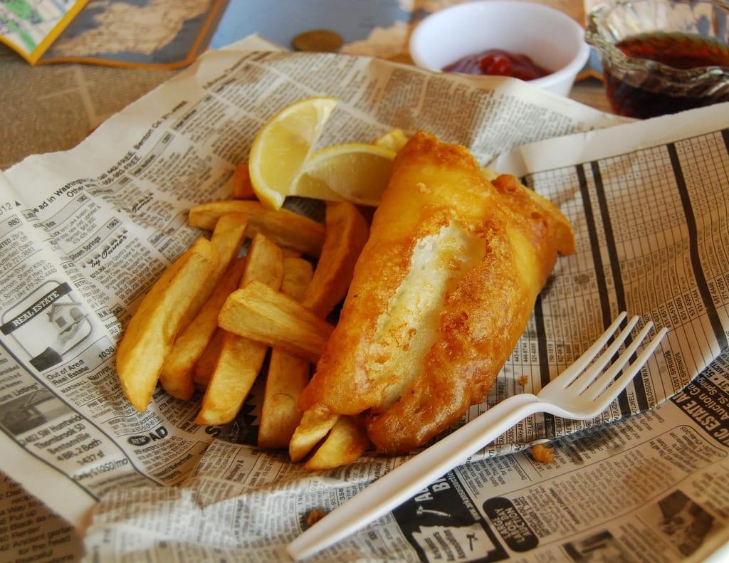 fish and chips receta tradicional