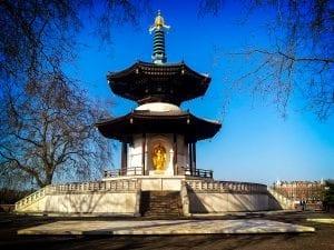 Peace Pagoda y eventos en el Battersea Park