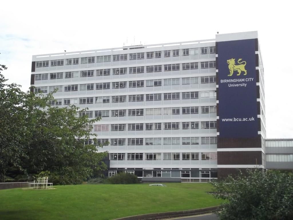 Habitantes y trabajo en Birmingham: Universidad Birmingham City University