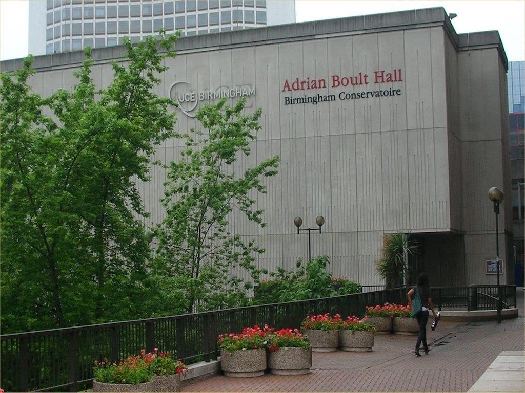 Habitantes y trabajo en Birmingham: Birmingham Conservatoire estudiar en Birmingham