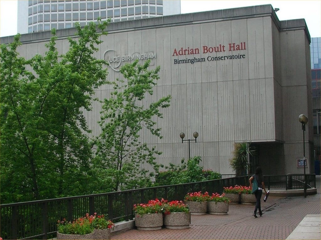 Birmingham Conservatoire estudiar en Birmingham