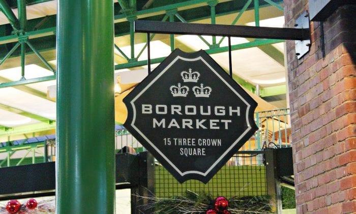 Horario del mercadillo Borough Market
