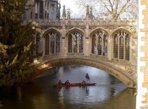 Puente de los suspiros Cambridge Reino Unido