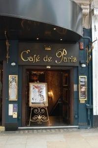 Café de Paris, restaurante en el Soho