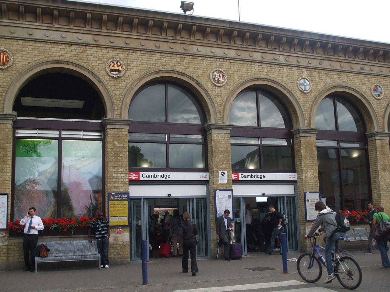 Cambridge Station estudiar en la universidad cambridge