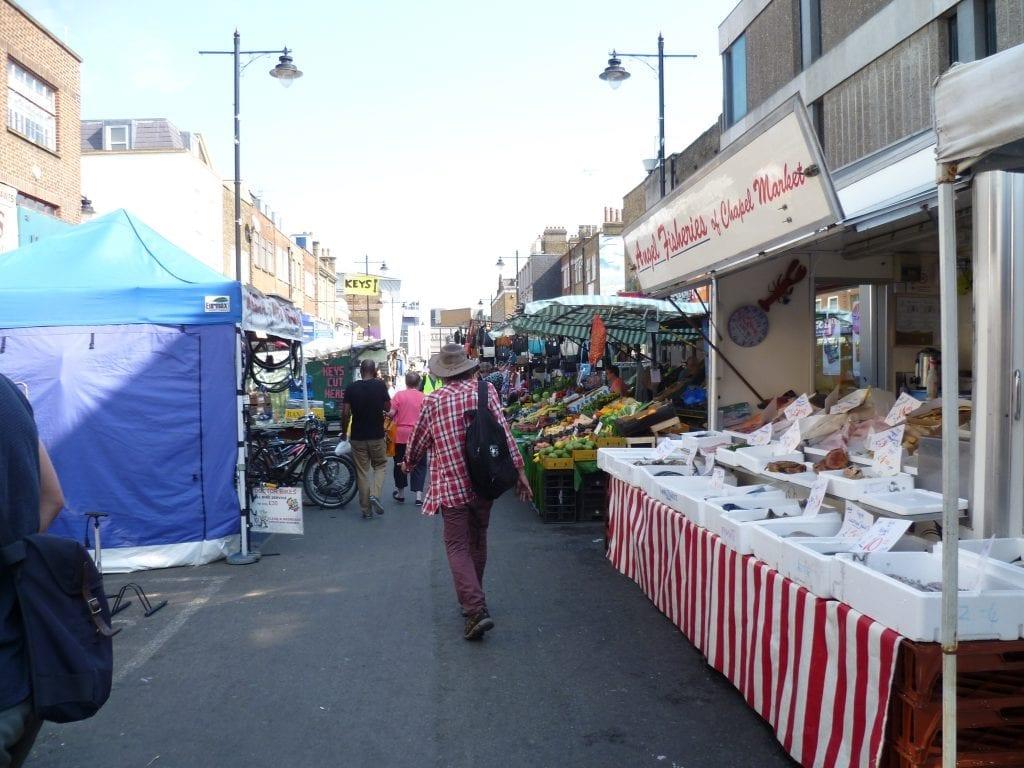 Chapel Market, mercado en Islington