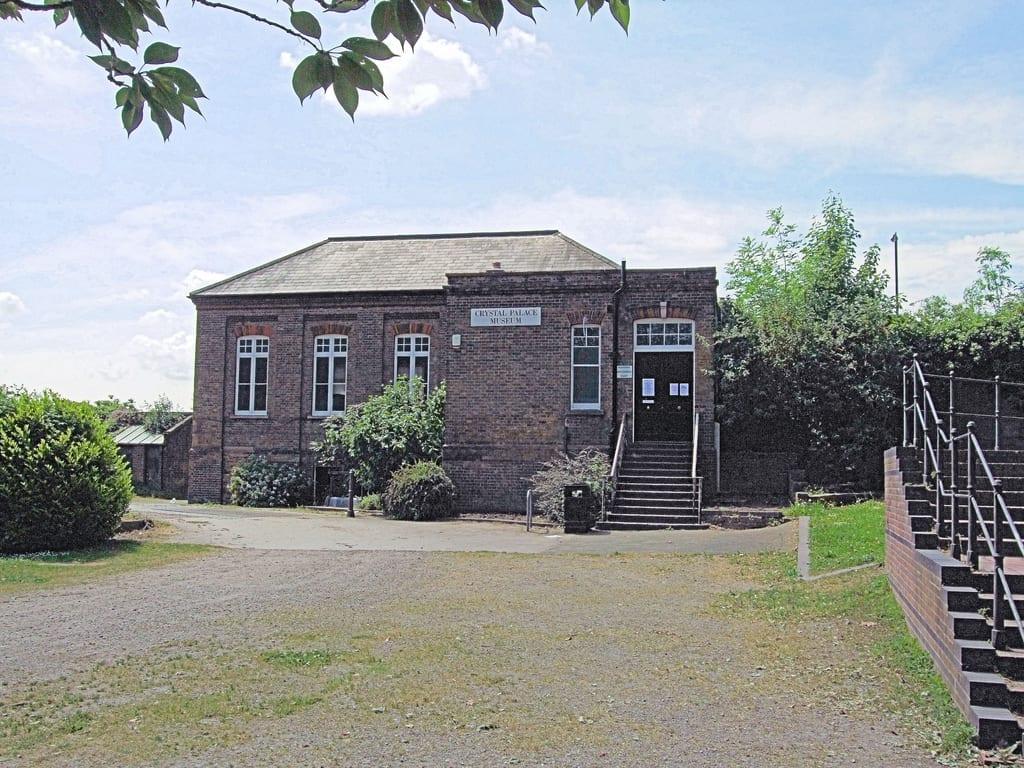 Edificio en el Crystal Palace Park