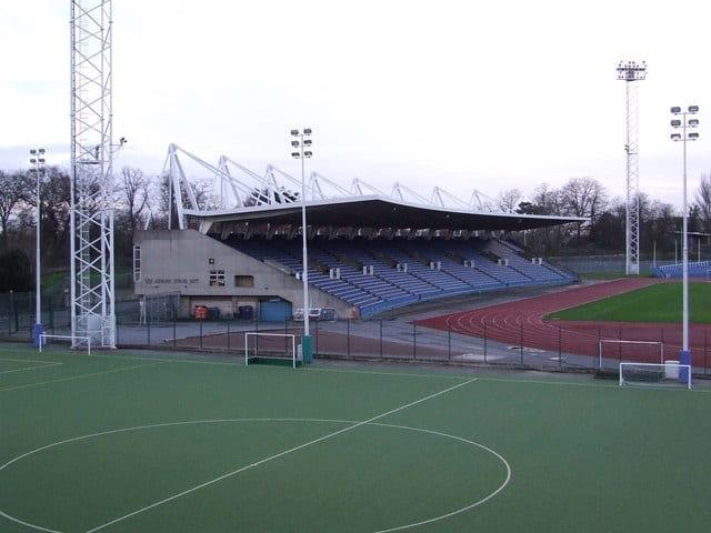 Pista de atletismo en el Crystal Palace Park