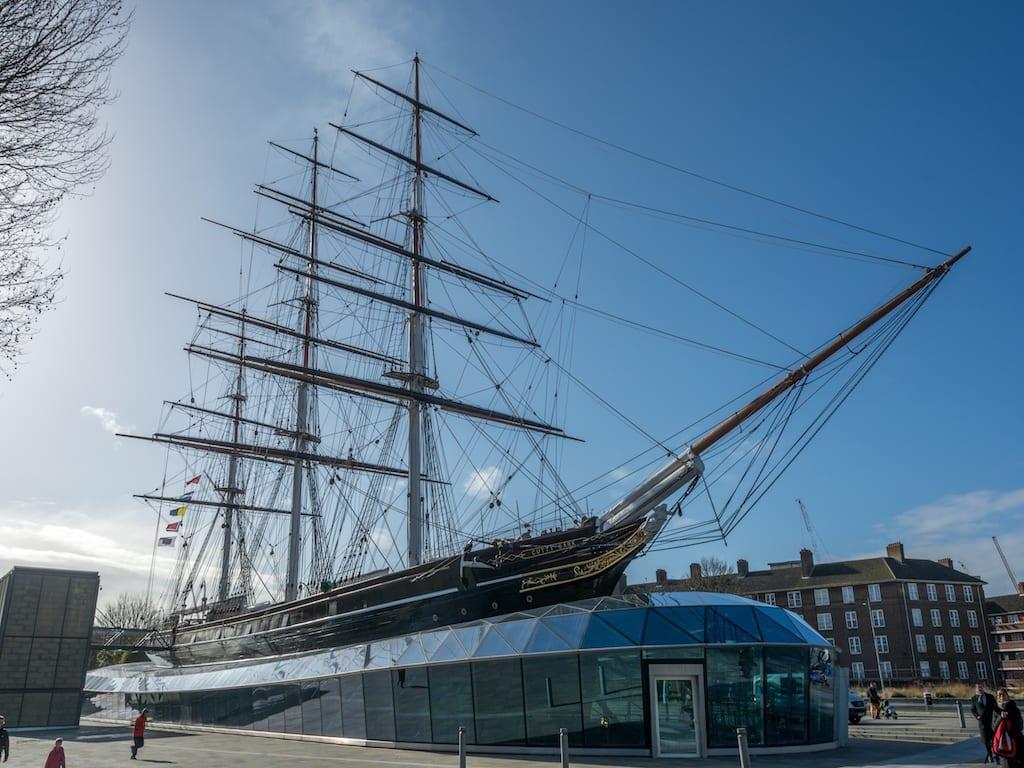 Cutty Sark en Greenwich