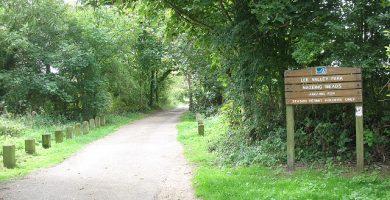 Entrance Lee Valley Park