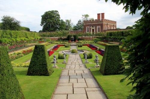 Evento en el Hampton Court de Inglaterra