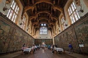 Hampton Court, palacio real de Enrique VIII