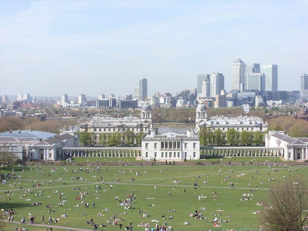 Zonas gratis en Greenwich Londres