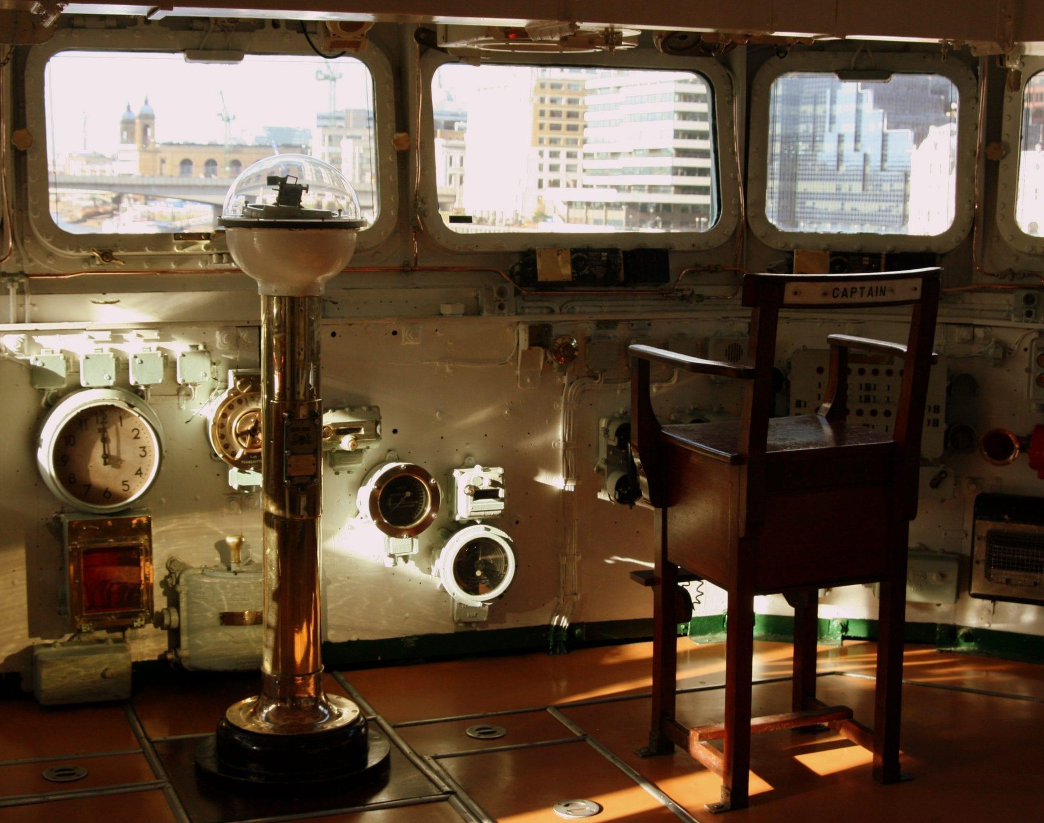 Historia del barco HMS Belfast