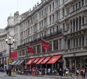 Comprar en la calle Regent Street