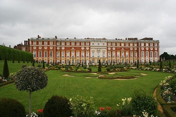 Fachada sur Hampton Court Palace