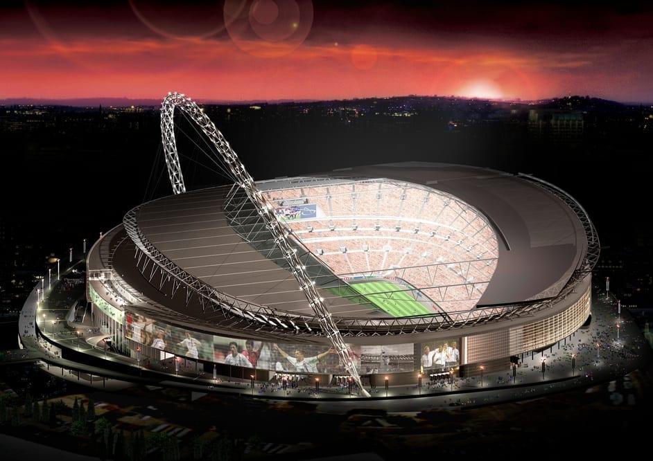 capacidad para el estadio de deporte y equipo wembley stadium
