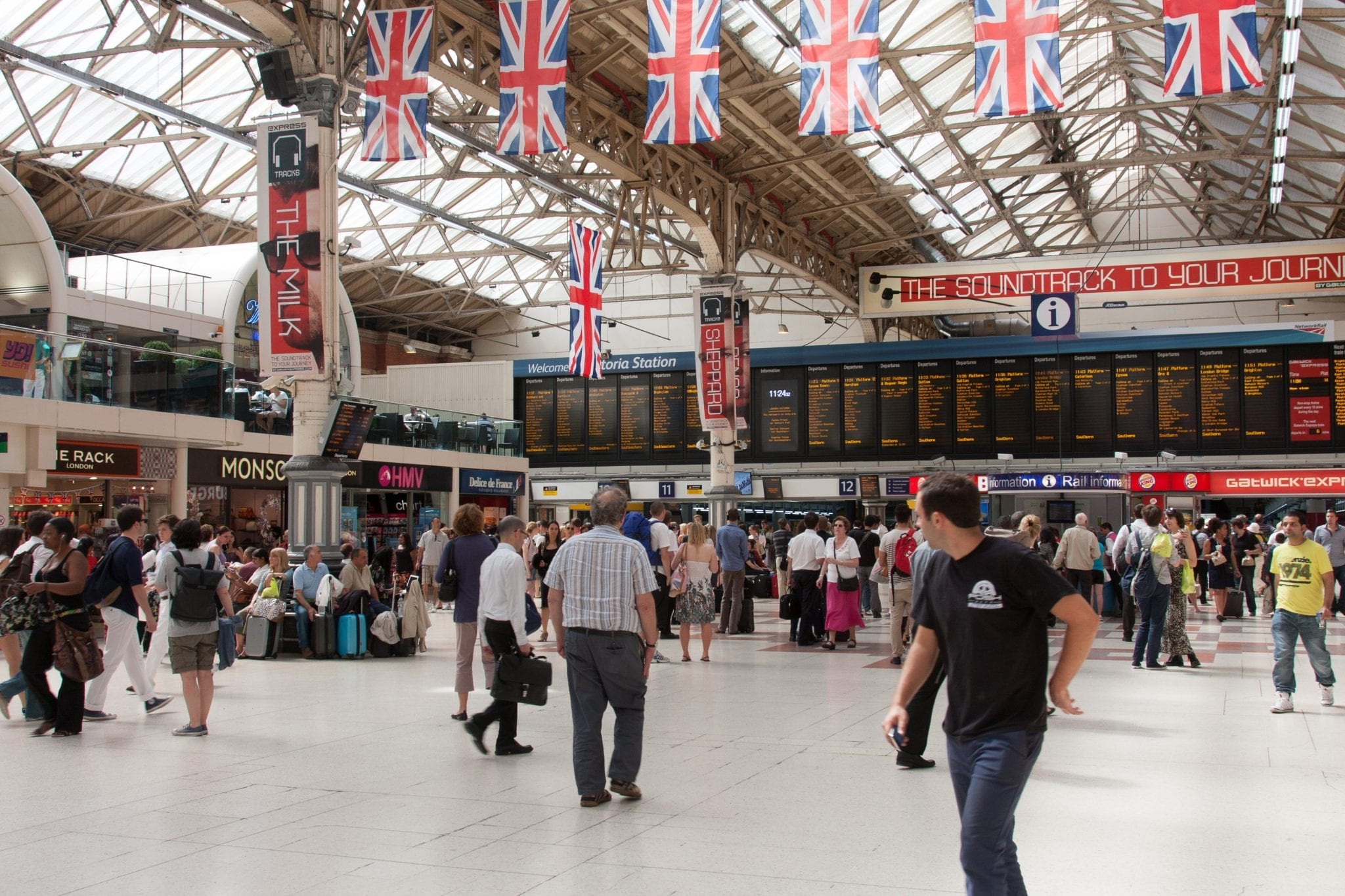 Victoria Station de tren y metro