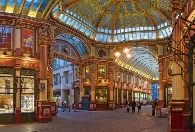 Mercadillos de Londres: Leadenhall Market