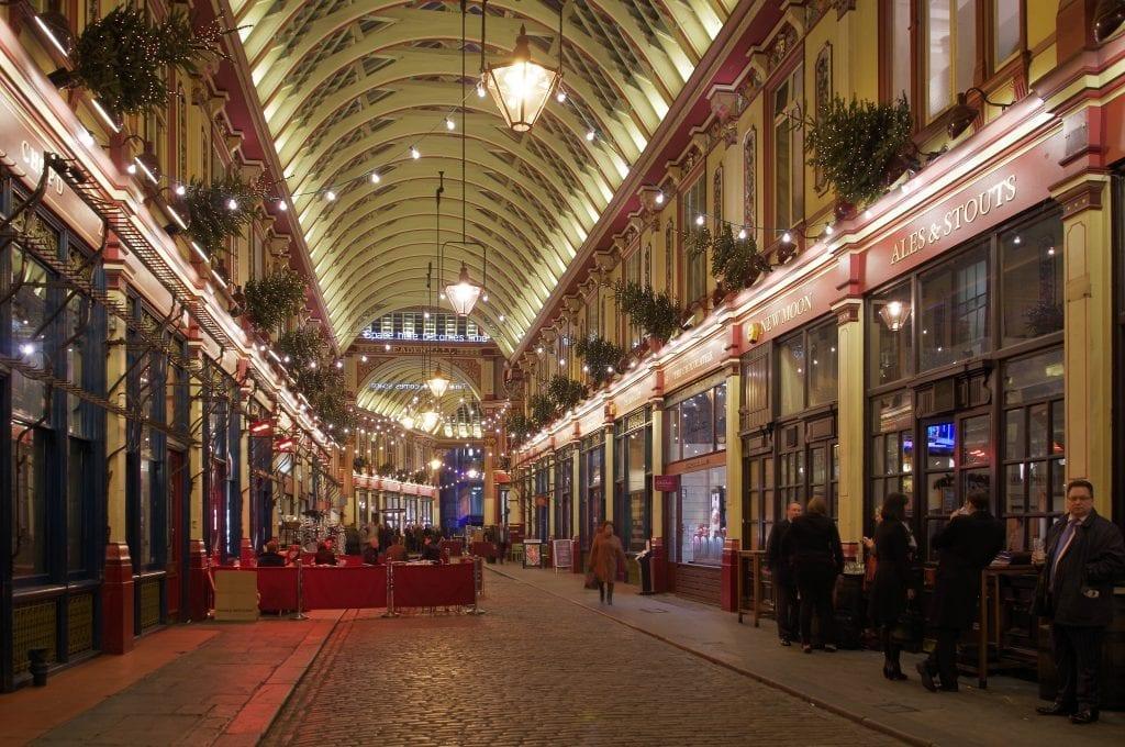 Horario de Leadenhall Market en The City