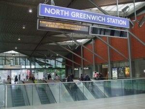 North Greenwich Station Metro