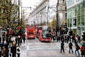 Oxford Street en el Soho
