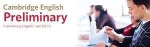 Examen PET B1 Inglés