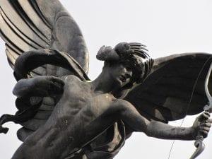 Eros y Trocadero en Piccadilly Circus