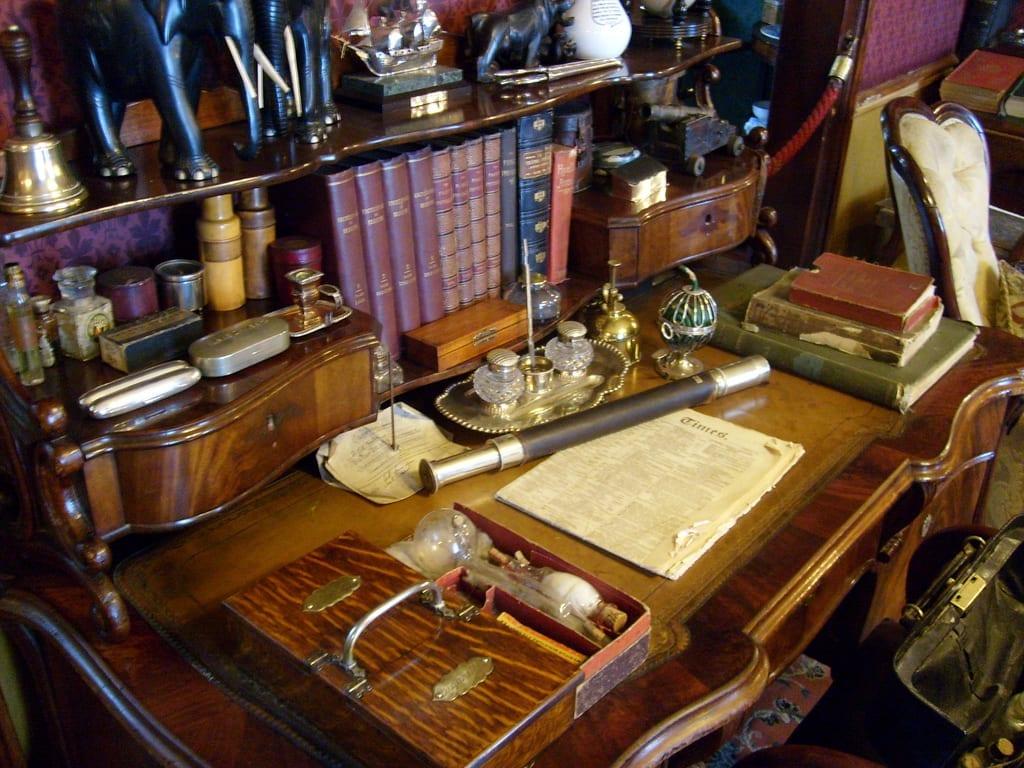 Entrada para ver la casa de Sherlock Holmes