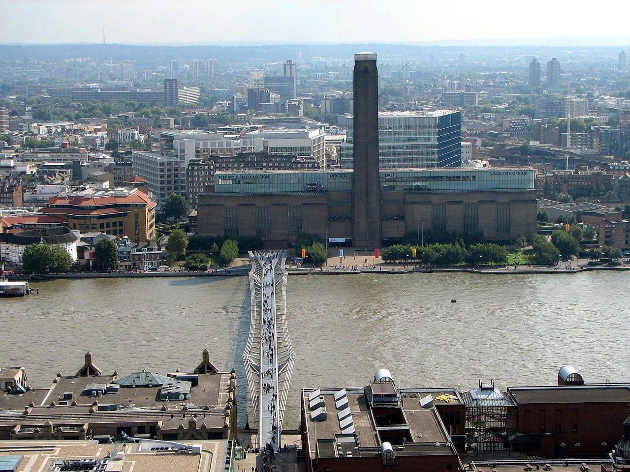 Viste della Tate Modern