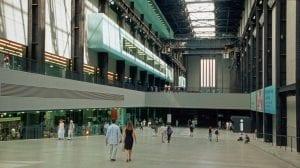 cafetería de la galería Tate Modern