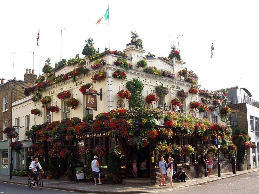 Antigüedades en Notting Hill