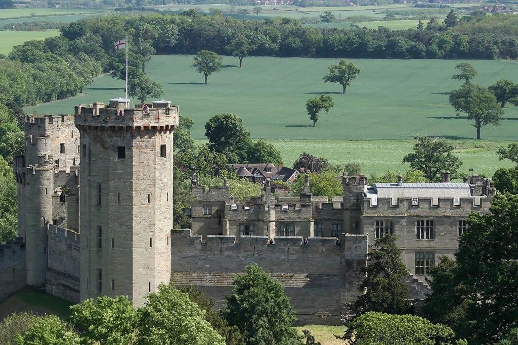 horario para entrar en el castillo de Warwick, Inglaterra