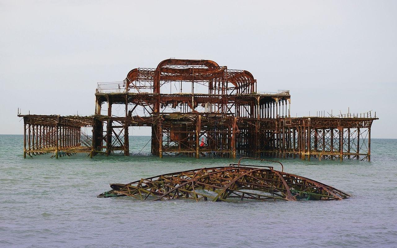 West Pier, uno de los lugares de interés de Brighton