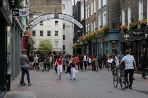 Carnaby Street en el Soho