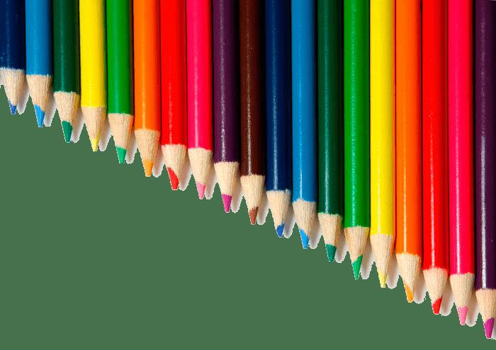 variedad de colores en ingles