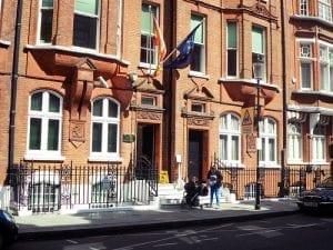 Horario del Consulado General Español en Londres, Reino Unido