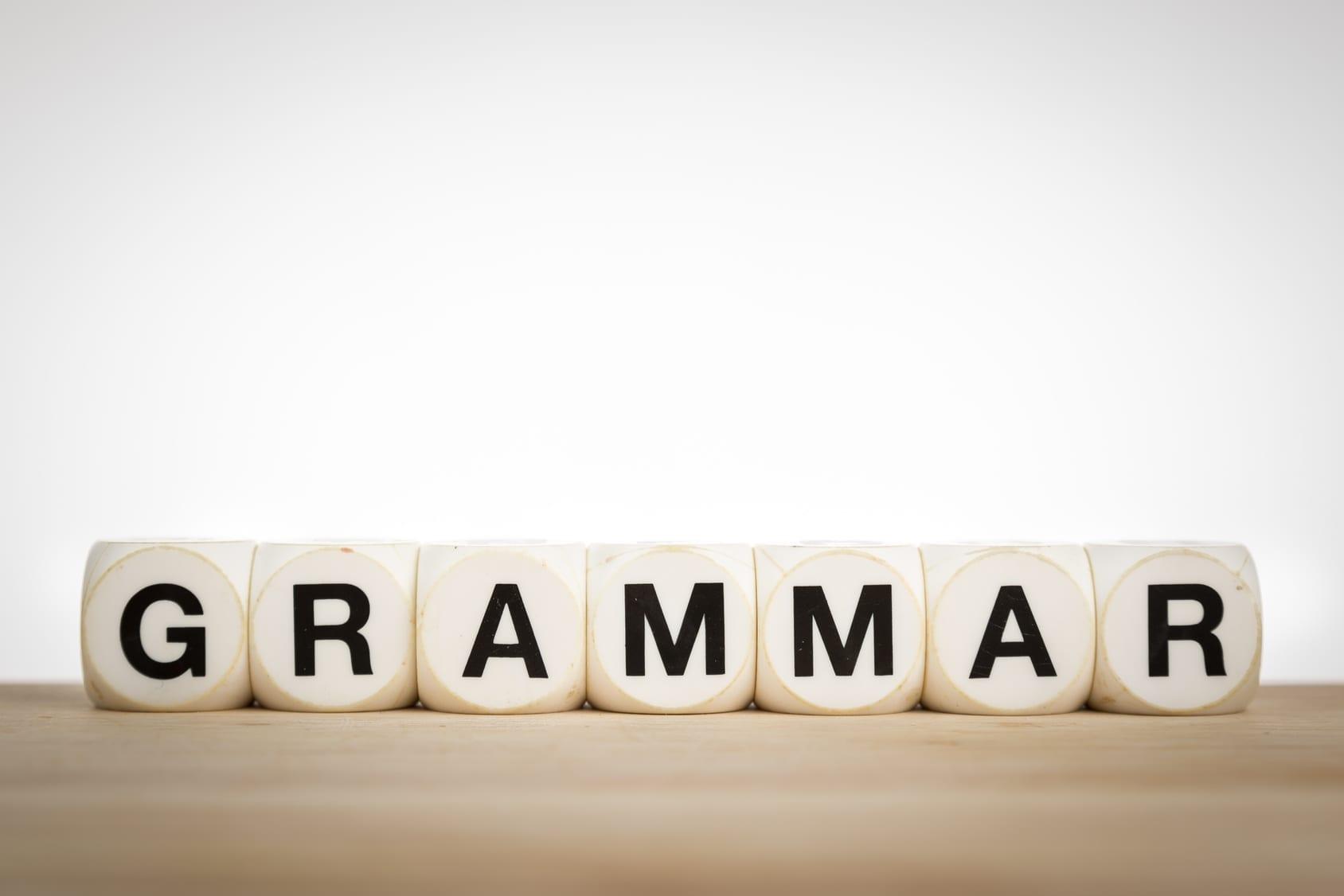 Gramática con dados