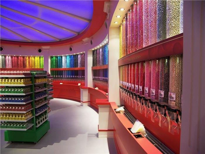 M&M's color, tazas, dispensador...