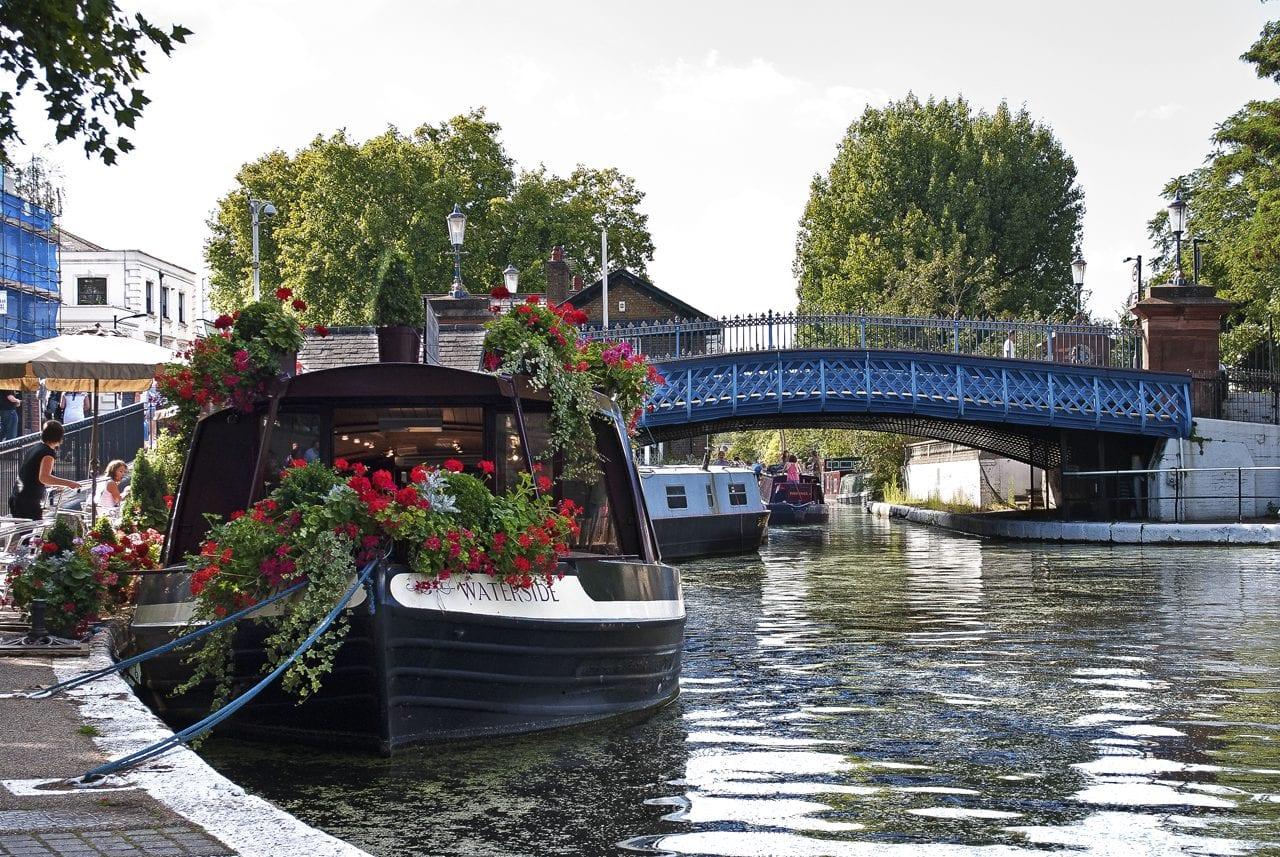 Barco de Camden a Little Venice