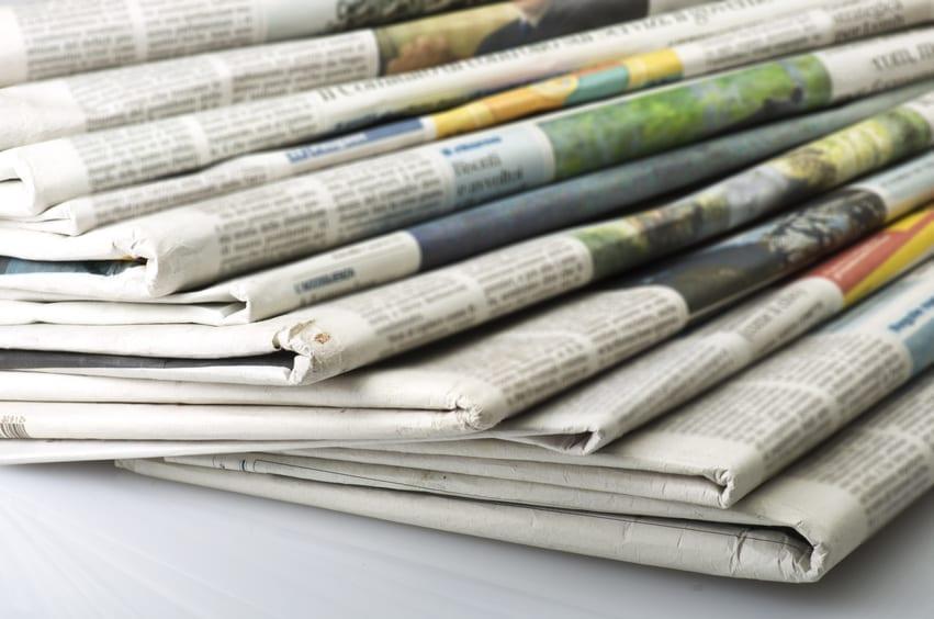 Temario newspapers